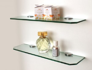 The Shelving Shop: Small glass shelf kit Source: www.shelvingshop.com.au