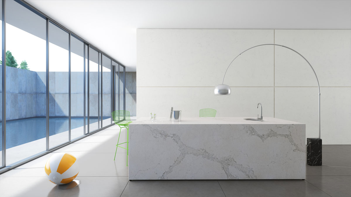 Materials finishes caesarstone calacatta nuvo 5131 Pros and cons of being an interior designer
