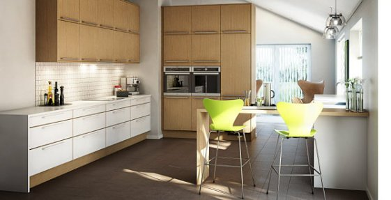 Clean-lined-Scandinavian-kitchen