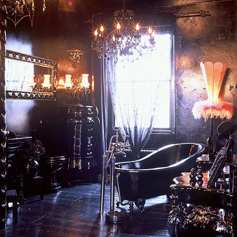Gothic Bathroom Design