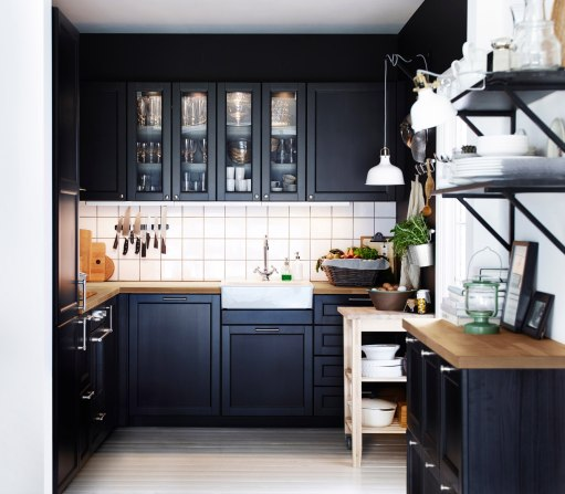 Black & Timber Kitchen