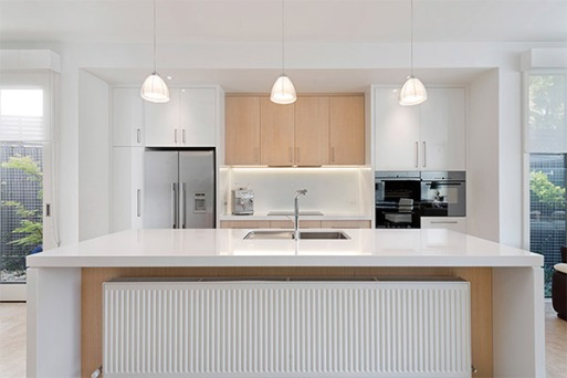 White & Timber Kitchen_Perini
