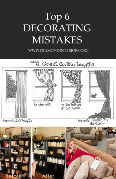 6 Decorating Mistakes_Blog by diamondinteriors.org