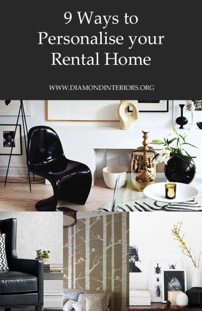 9 Ways to Decorate & Personalise your Rental Home by Diamond Interiors