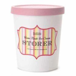 Retro Kitchen Ice Cream Container