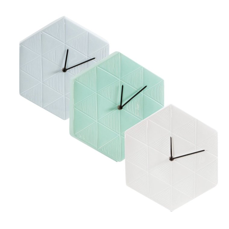 Saskia Ceramic Clock