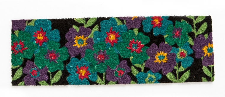 The Night Garden Door Mat