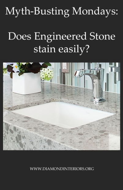 Can Engineered Stone Stain Diamond Interiors