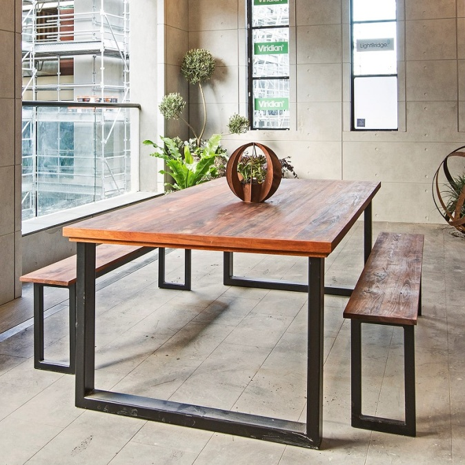 industrial-style-dining-table